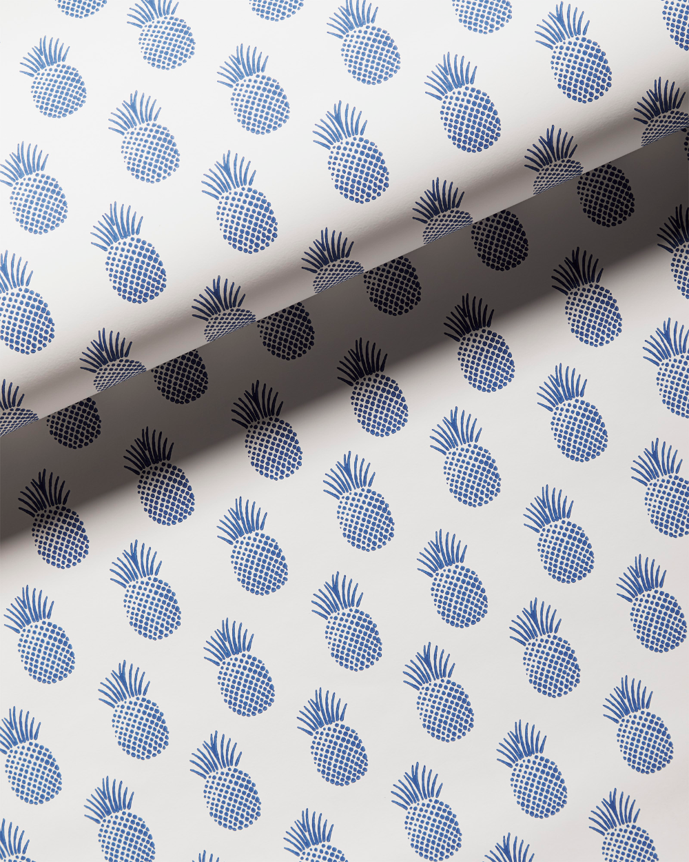Isla Wallpaper In 2021 Serena And Lily Wallpaper Blue And White Wallpaper Pineapple Wallpaper