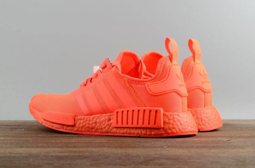 2cfd3b6f5c320 Authentic Adidas Originals NMD R1 Runner All Red Real Boost S31507 Sport  Shoes DHL Free Shipping for Sale 08