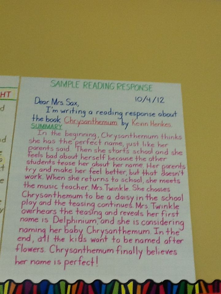 The Second Graders Are Learning How To Write A Detailed Response