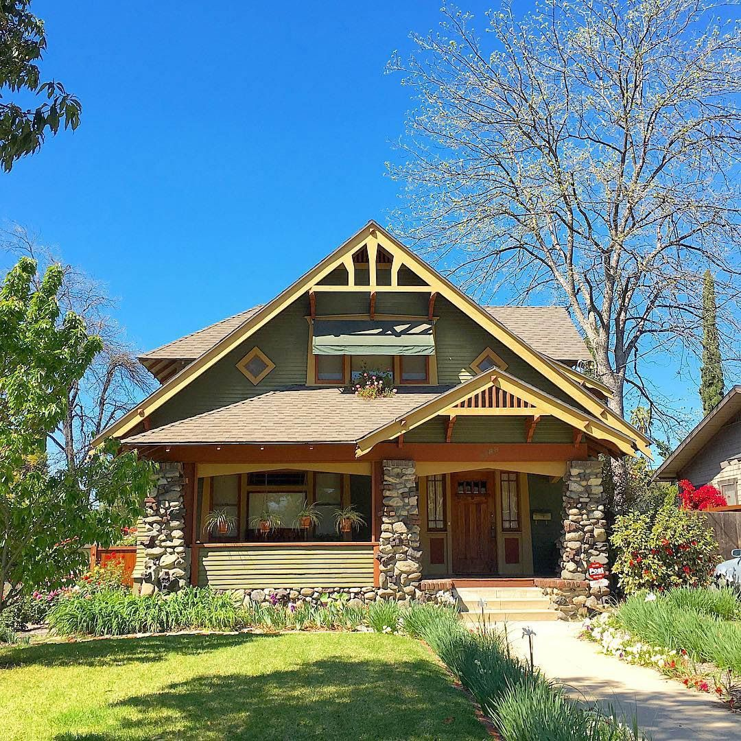 Craftsman-style House #craftsmanstylehomes