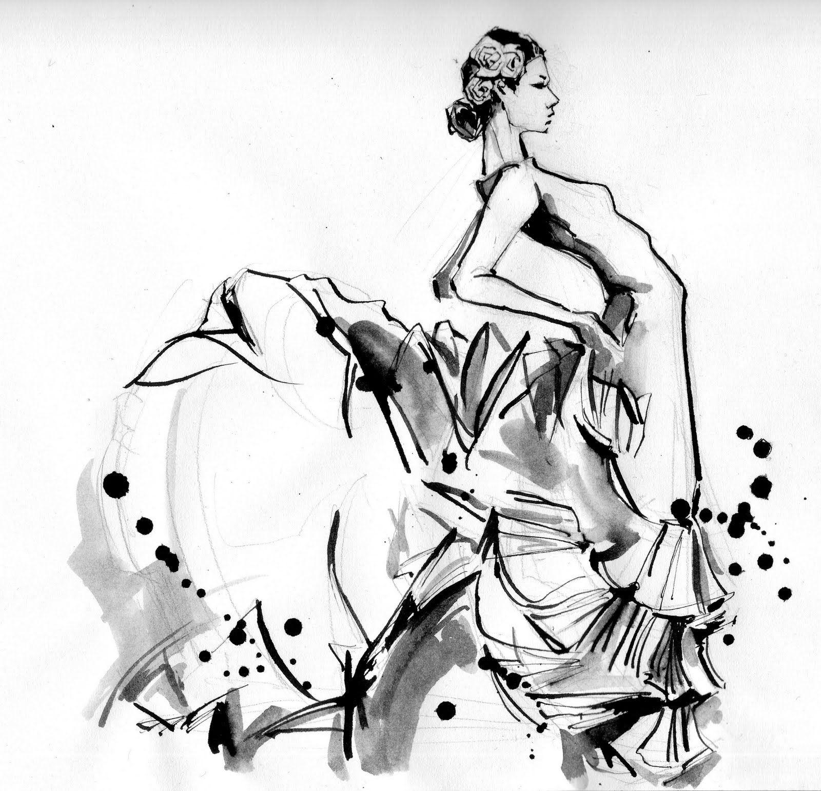 flamenco-dancer   ilustraciones   Pinterest   Flamenco, Flamenco ...