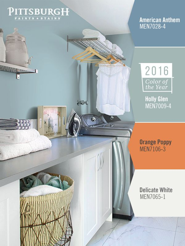 Laundry Room Paint Color Ideas Makeover Tips Inspiration Your Doesn T Have To Be A E Of Gloom
