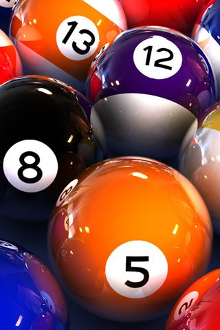 Billiard Balls Closeup Iphone Wallpaper Idesign Iphone Billiards Billiards Pool Billiard Balls