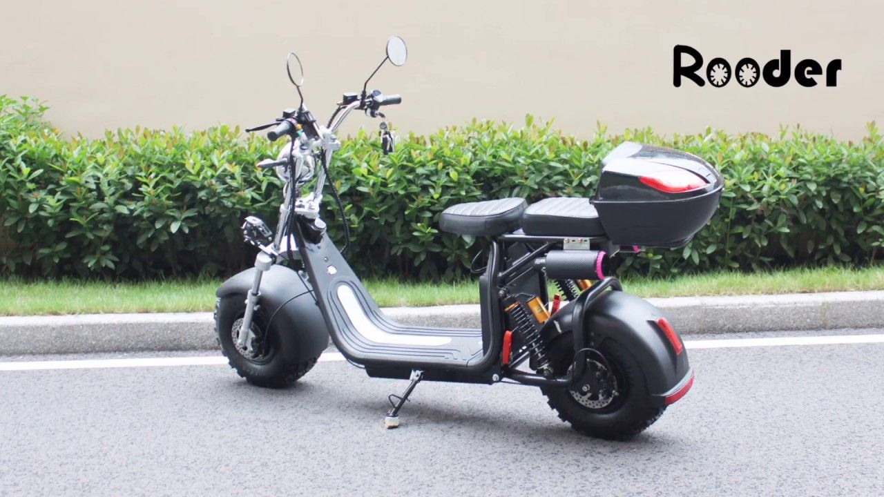 Fastest Electric Scooter R804o With Off Road Tire From Rooder Fastest Electric Scooter Factory Youtube Electric Scooter Scooter Electric Motorcycle