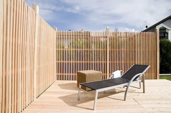 Holzzaun Breite Latten Quer Google Suche Garten Fence Fence