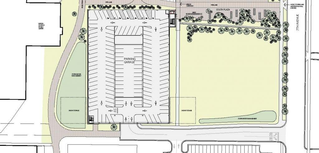 Parking Garage Design Layout New Parking Garage Campus Planning Design Amp Construction