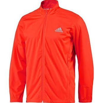 cosecha distorsionar utilizar  Adidas waterproof running jacket | Running jacket, Long sleeve tshirt men,  Red jacket
