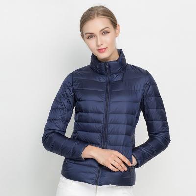 128374de9626 Women Winter Coat New Ultra Light White Duck Down Jacket Slim Women Winter  Puffer Jacket Portable Windproof Down Coat