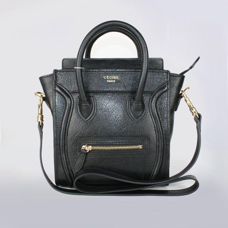Celine Luggage Bag   Home    Celine Luggage Bag    Celine Black ...
