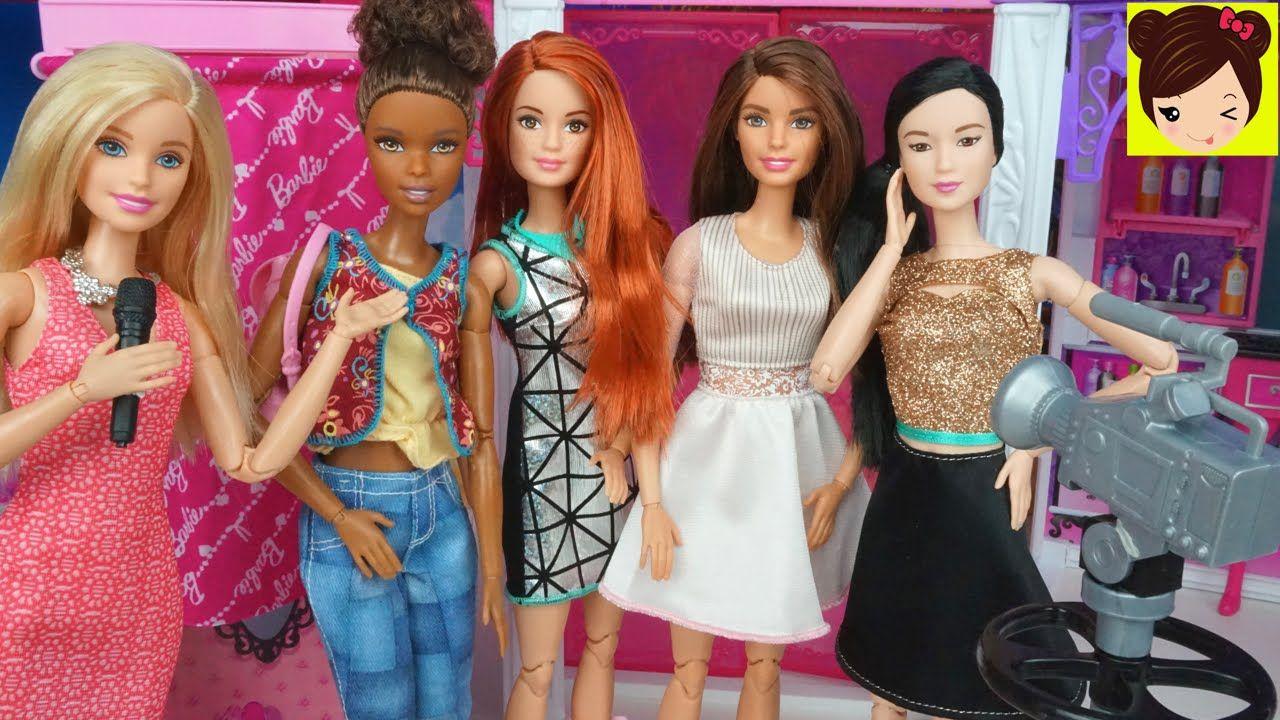Barbie Desfile De Moda En El Centro Comercial De Malibu