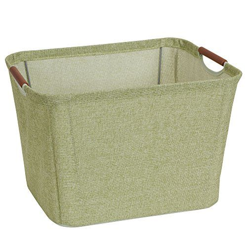 11 Inches Tall 6 X 13 At The Top And 13 875 X 10 875 At The Base 21 Household Essentials Fabric Storage Bins Storage Bin