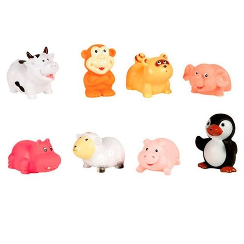 c8441e877baf8 Elegant Baby - Animal Party Bath Toys