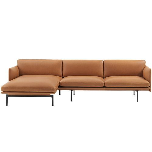 Muuto Outline Chaise Longue Left Designed By Andersson Voll Scandinavian Nordic Modern Furniture Sofa
