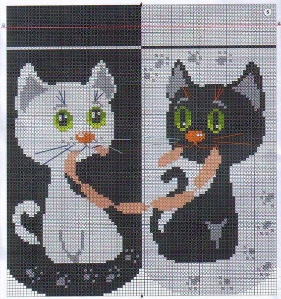Delicadezas en crochet Gabriela: Gatos almohada con salchichas ...