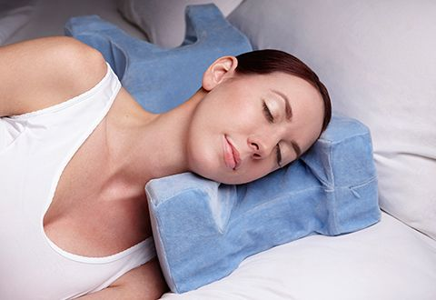 face wrinkle preventing pillow