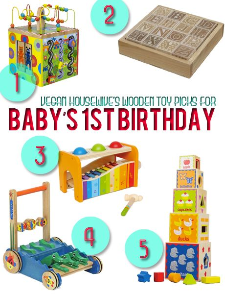 Wooden Toy Gift Guide 1st Birthday Present Ideas