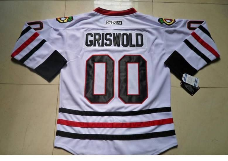 e079b55a9 Clark Griswold CHICAGO  00 Christmas Vacation Movie Hockey Jersey Size  large (eBay Link)