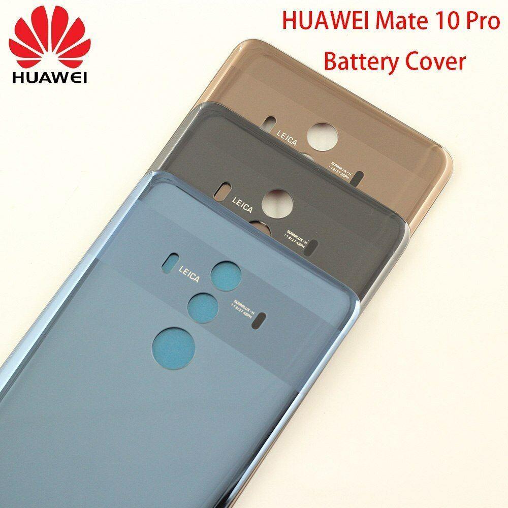 Original Huawei Mate 10 Pro Glass Battery Cover Replacement Back Door Rear Huawei Mate Huawei Back Doors