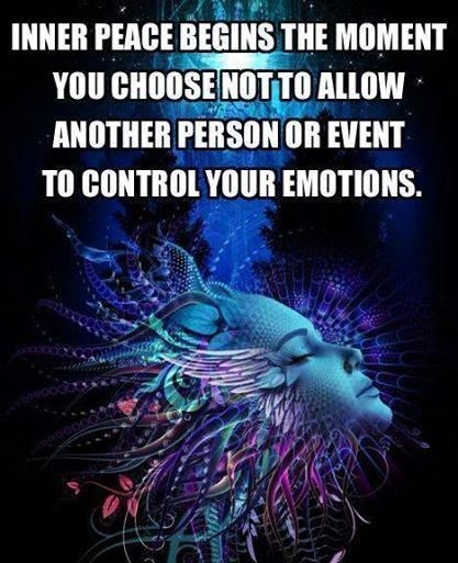 Inner Peace is just a decision away !