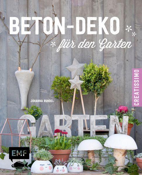 Details zu JOHANNA RUNDEL Beton-Deko für den Garten ******NEU - beton basteln garten