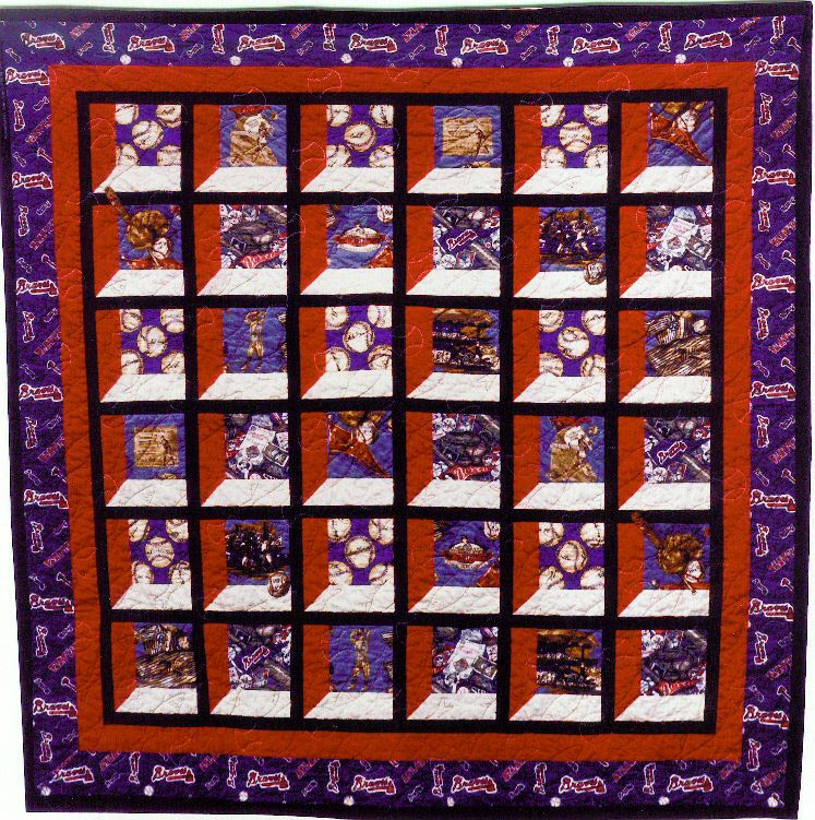 patterns for baseball quilts | Kathy's Quilts: Granddaddy Jones ... : discounted quilts - Adamdwight.com