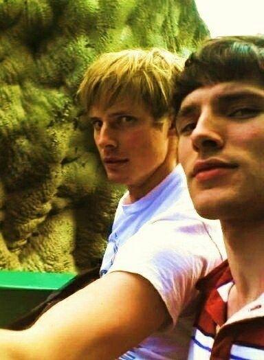 Bradley James & Colin Morgan