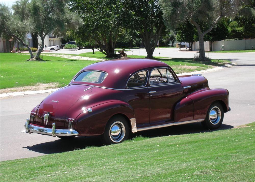 1947 Chevrolet Fleetmaster Coupe 1947 Chevrolet Fleetmaster 2 Door Coupe Chevrolet Coupe Chevy