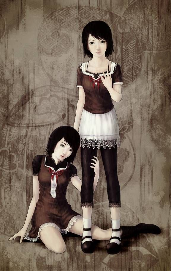 Fatal Frame 2 Mio and Mayu   Video Games   Pinterest