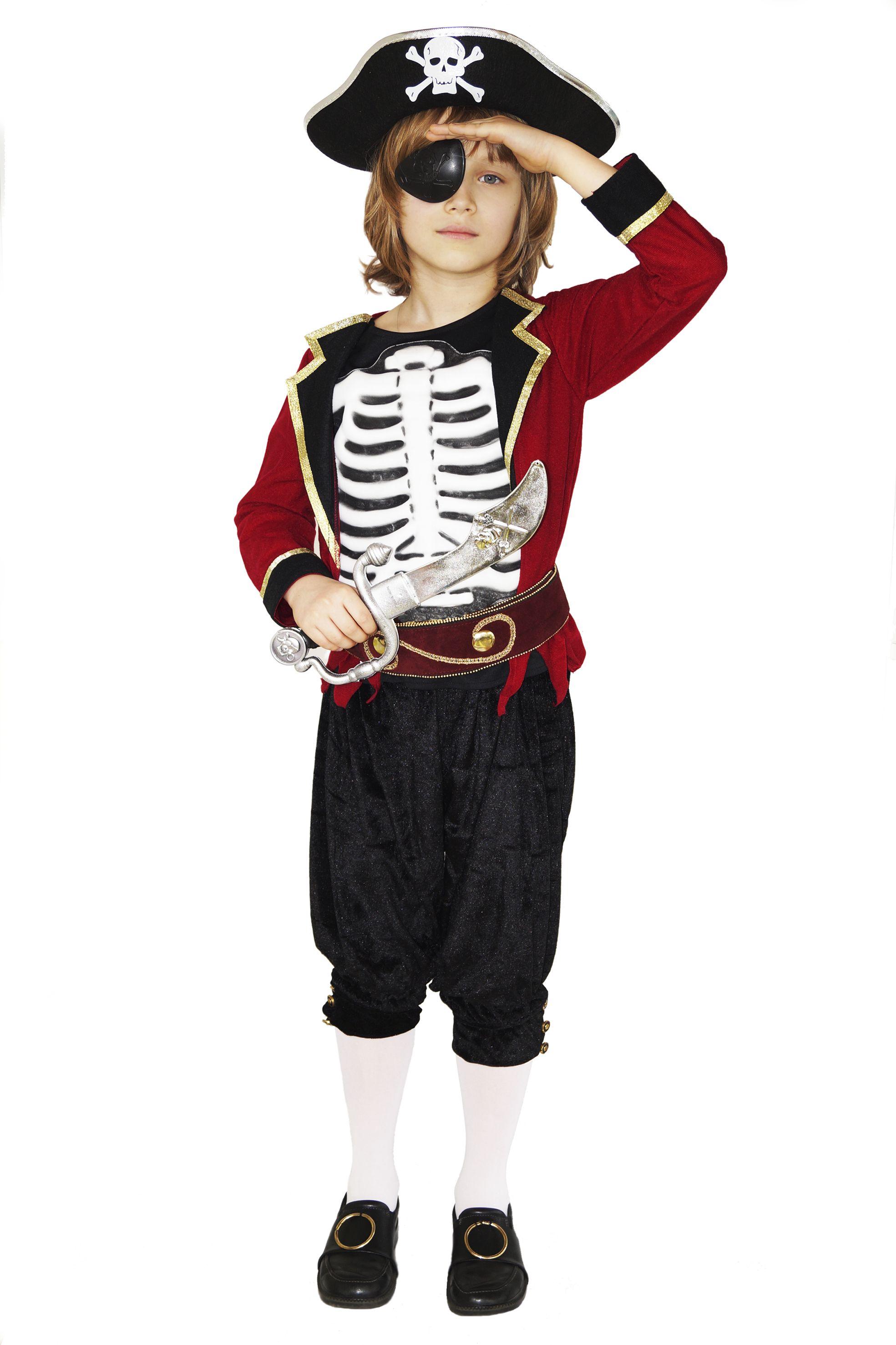 Карнавальный костюм пирата на мальчика 5-8 лет Прокат в городе Киеве Стоимость 100грн/ сутки Доставка до двери в г. Киеве 25 грн  Костюм включает в себя: - кофта двойная - пояс - шляпа - повязка на глаз - капри - имитация обуви с пряжкой  - ножик( по договоренности) Идеальный костюм для фотосессий в пиратском стиле и тематических пиратских вечеринок.