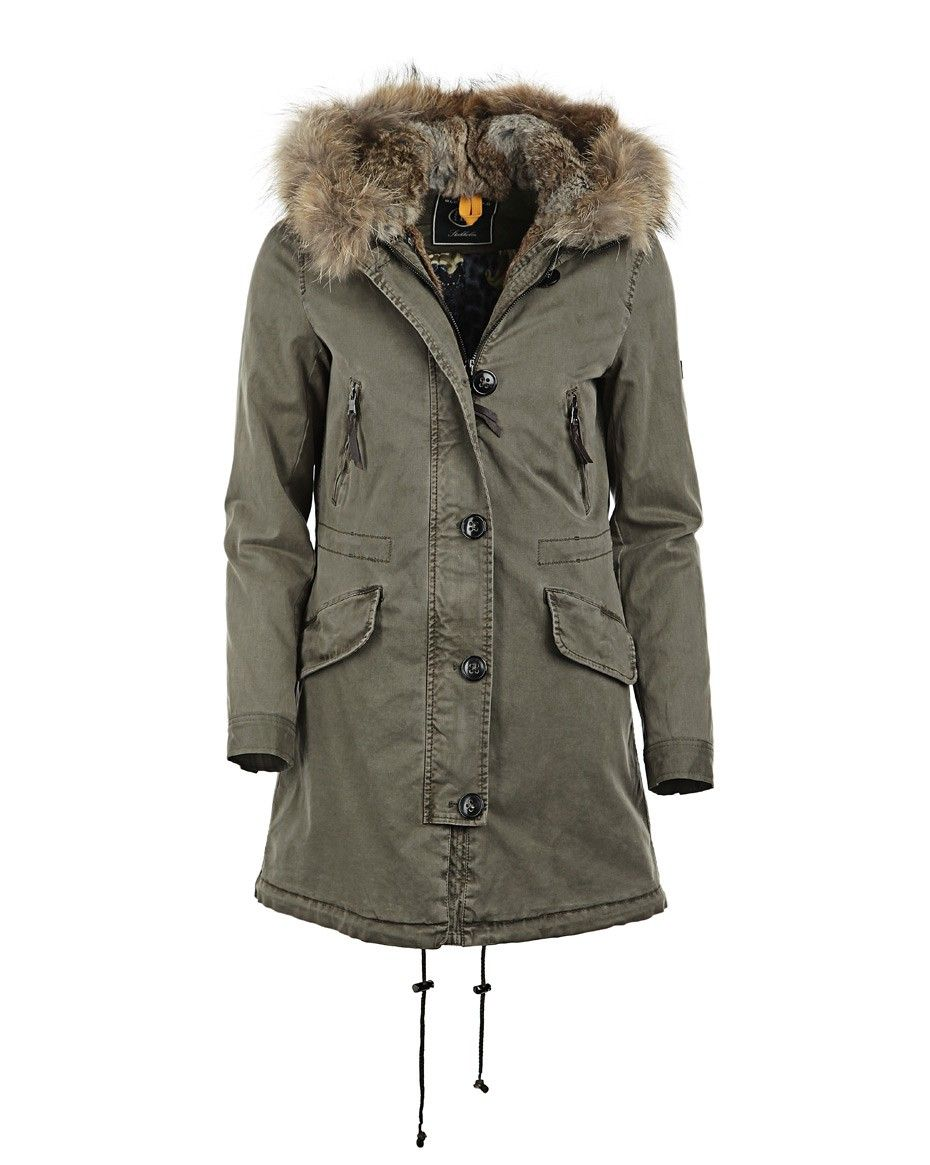 BLONDE NO.8 Parka Love it | Parka khaki, Trends, Wolle kaufen
