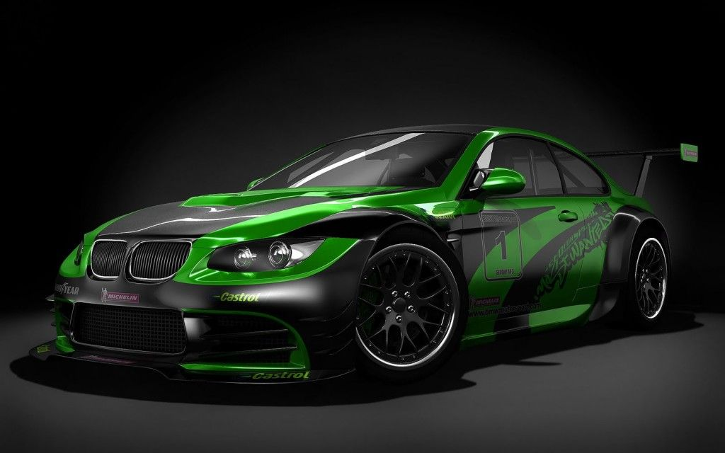 Luxury Car Black With Green Car Wallpapers Bmw Wallpapers Bmw M3 Sport
