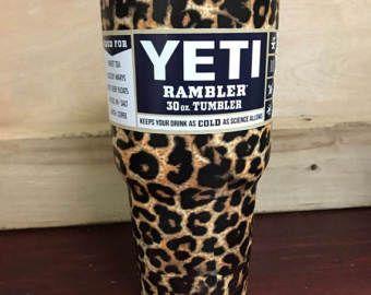 1a448004014 YETI Authentic LEOPARD 30 oz Rambler Tumbler Cup Mug Yeti Cup, Leopard  Print Yeti Cup, hydrodipped yeti Large Cheetah 30oz Small Yeti Mug - Edit  Listing - ...