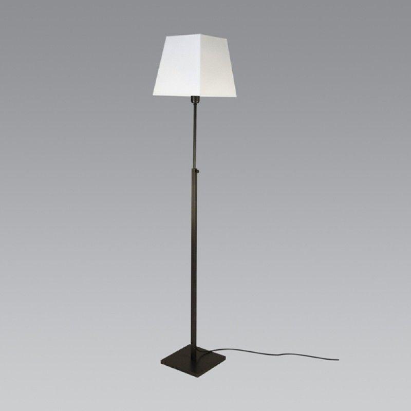 Lampe Stephane Davidts ZABARAH Carré en finition Bronze Griffé  Luminaires  -> Table Carre Led