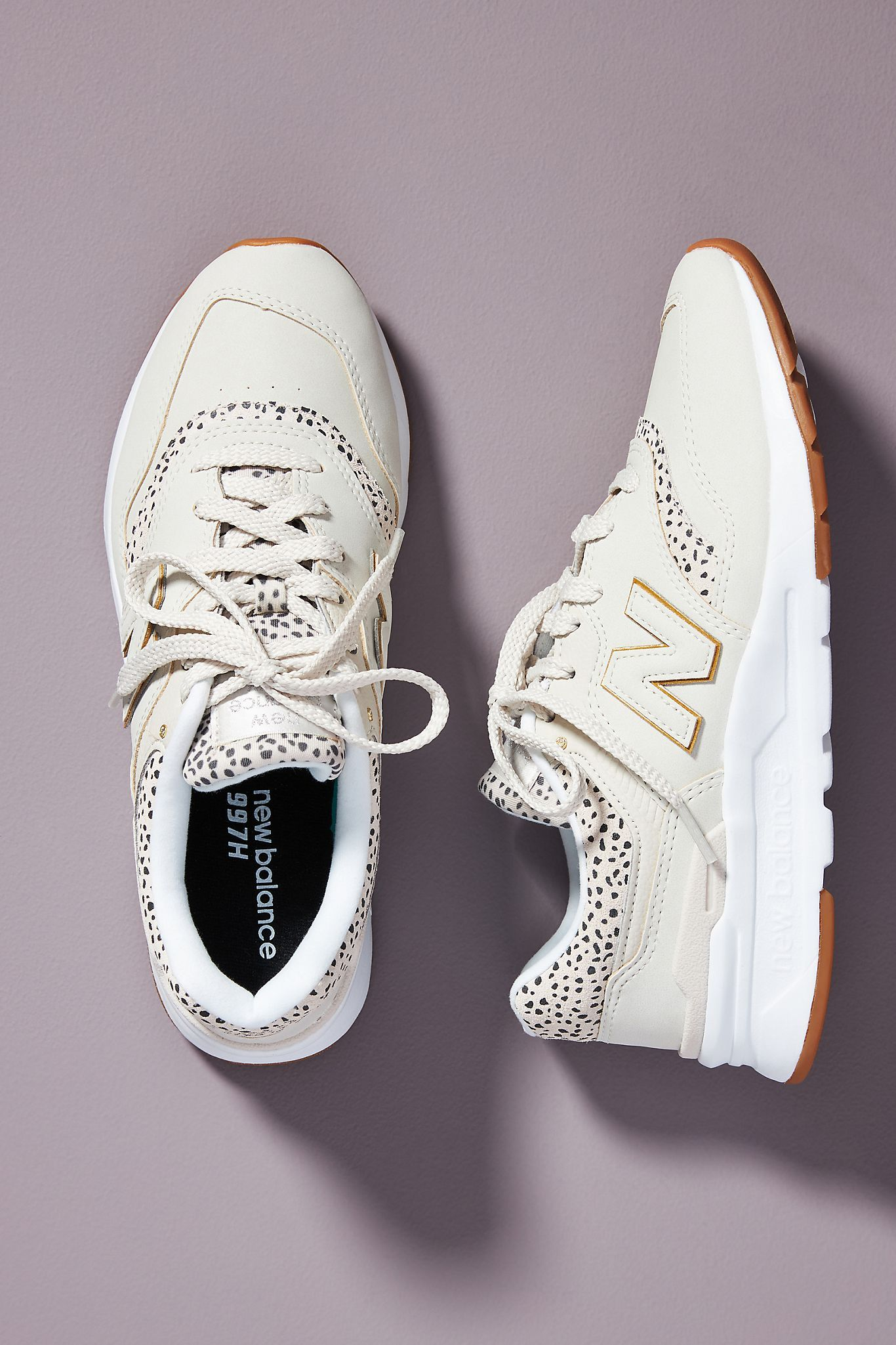 New Balance Spotted Trainer Sneakers