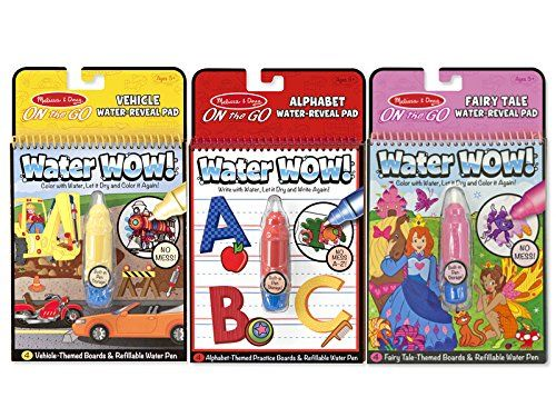 Kids Paint With Water Kits Melissa Doug On The Go Water Wow Bundle Alphabet Vehicle Fairy Tale Click Imag Coloring Book Set Watercolor Books Fairy Tales
