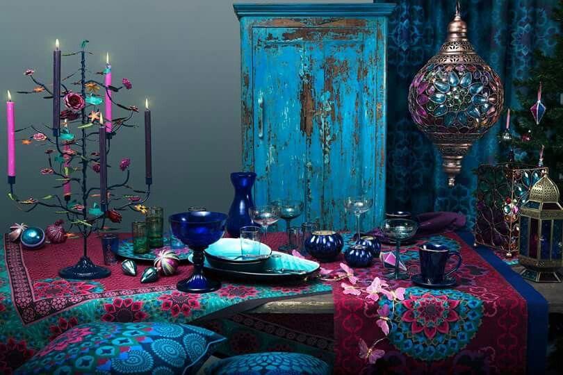 American Hippie Bohéme Boho Lifestyle ☮ Dining Room