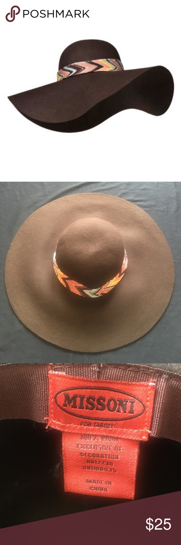 e8ba65cfad0d6 Missoni for Target Floppy hat Worn once !!! Missoni for Target Accessories  Hats