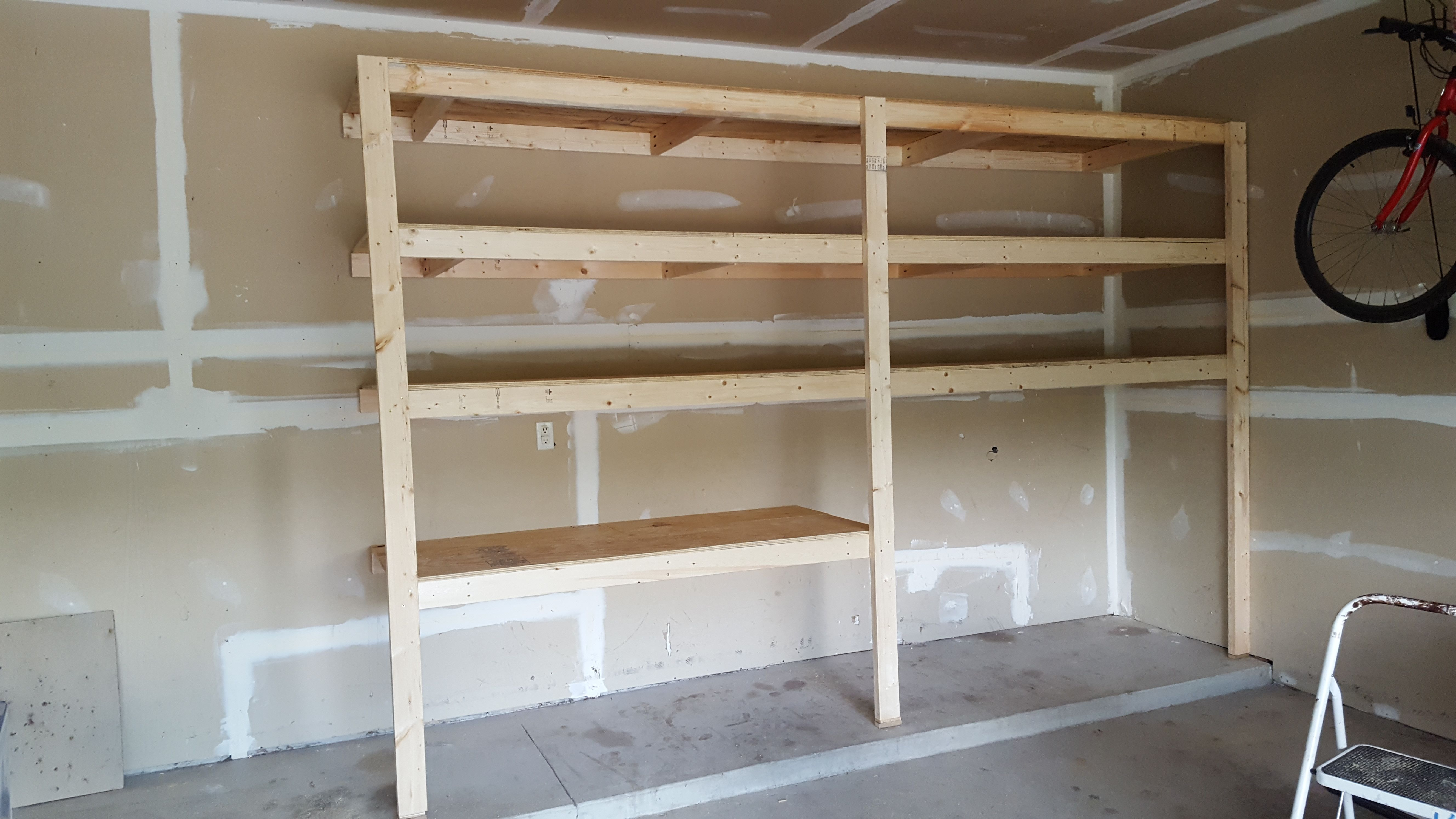 Ana White Garage Shelves Diy Projects Diy Storage Shelves