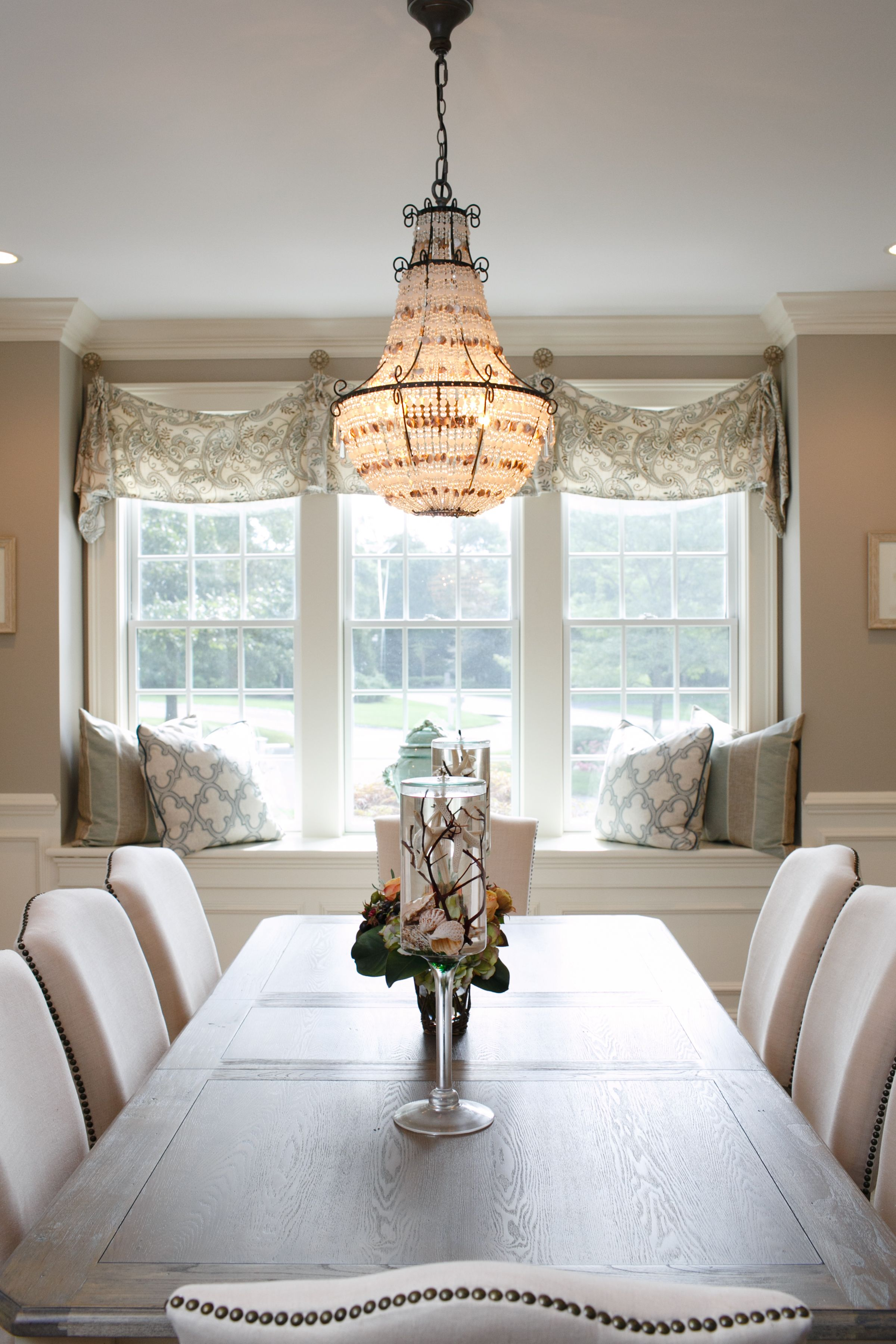 Traditional Interior Design By Ownby: That Chandelier! Mashpee Home, Cape Cod Interior Design By Casabella Home Furnishings