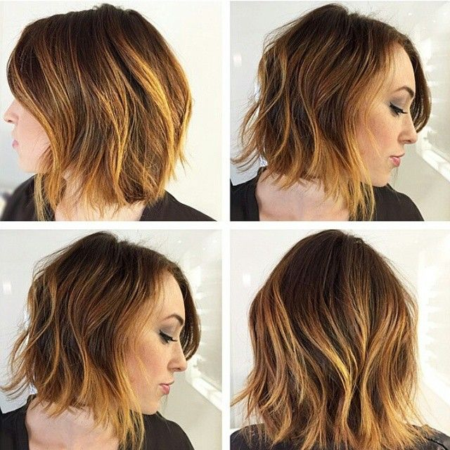 sch ne wavy bob frisuren f r frauen mit mittellangen haaren hair pinterest frisuren f r. Black Bedroom Furniture Sets. Home Design Ideas
