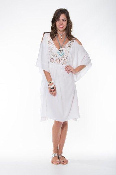 Ladli Australia Margarita Dress Short – White