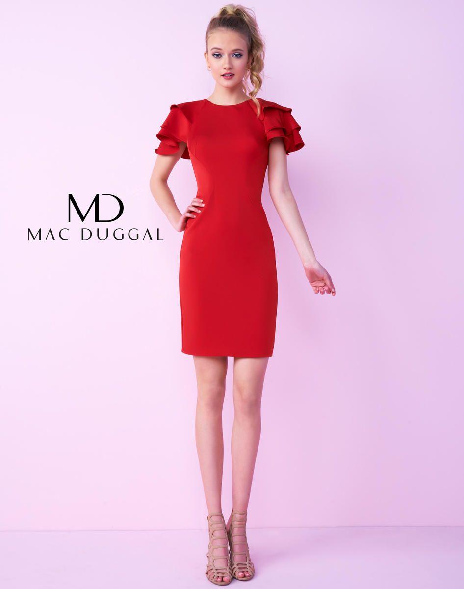 Increíble Vestidos De Fiesta Mac Duggal Motivo - Colección de ...