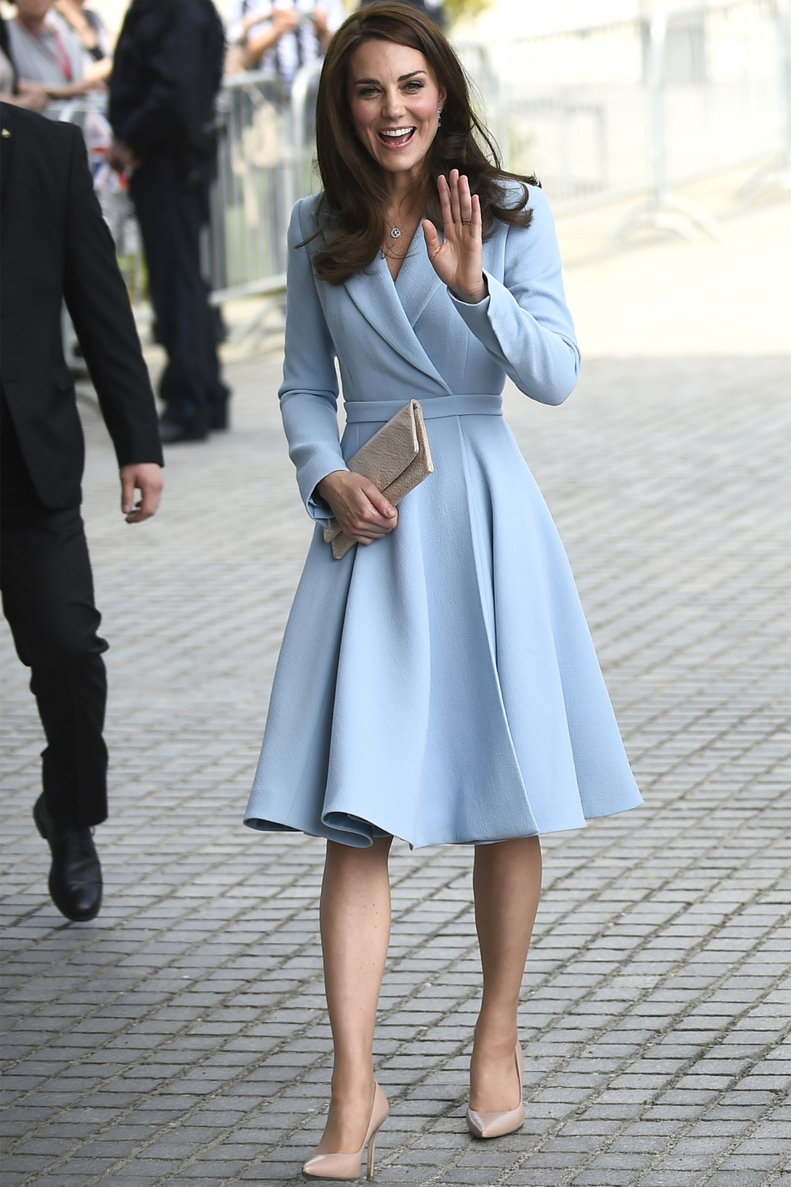 Kate Middleton Just Wore Her Best Maternity Dress Again Kate Middleton Royals And Kate