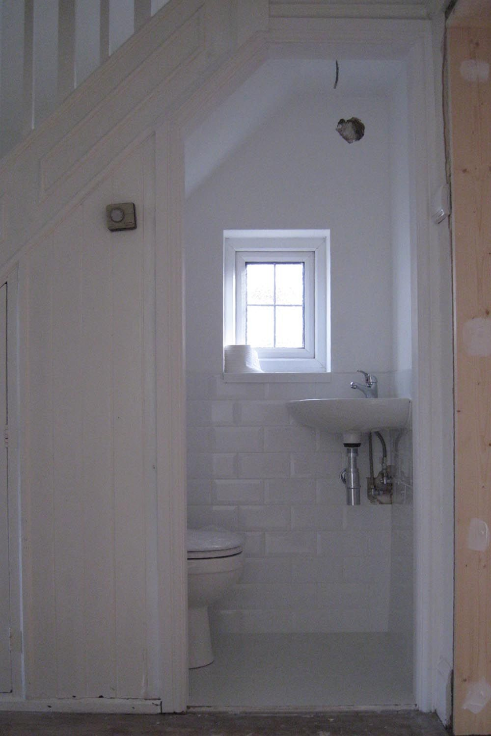 Small window ideas bathrooms  under stairs loo  google search  home styling  pinterest  google