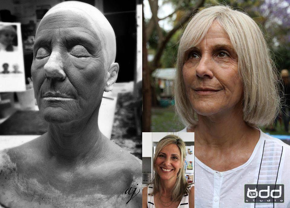 Sculpt and make up design by Adam Johansen