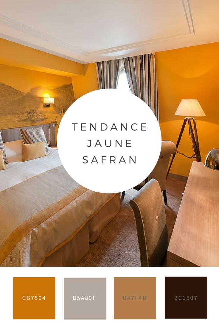 le jaune safran est une couleur qui permet d 39 apporter beaucoup de chaleur dans son int rieur. Black Bedroom Furniture Sets. Home Design Ideas