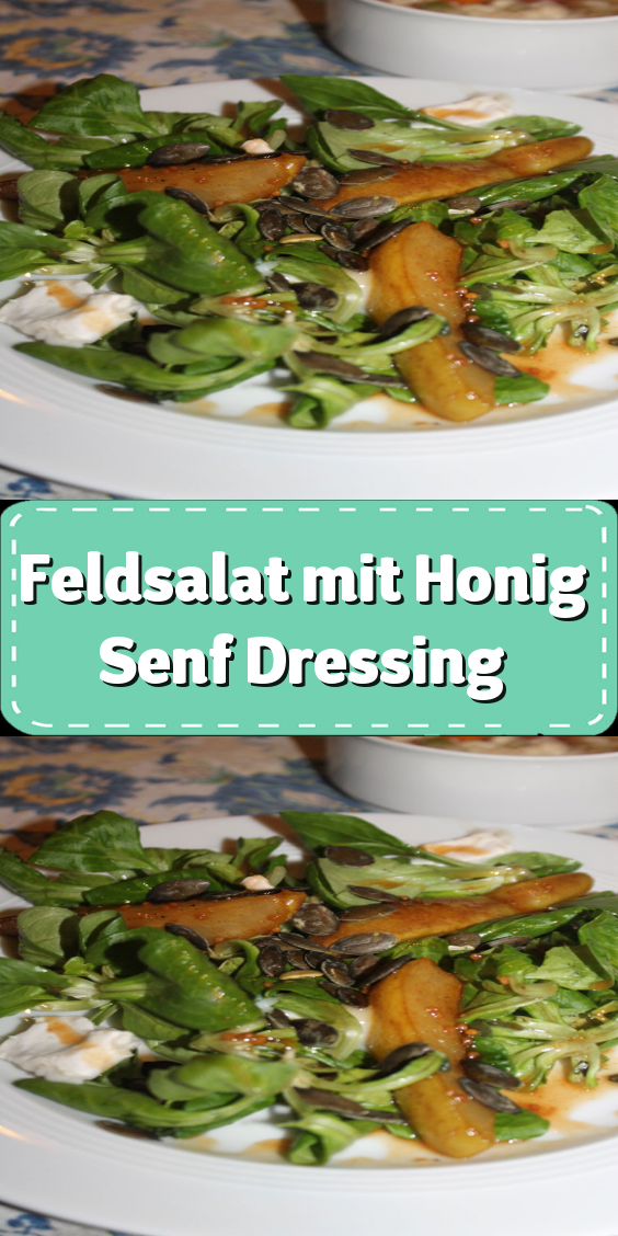 Feldsalat mit Honig-Senf-Dressing - Nettetipps