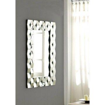 Espejo moderno de cristal Archi #Ambar #Muebles #Deco #Interiorismo #Espejos | http://www.ambar-muebles.com/espejo-moderno-de-cristal-archi.html