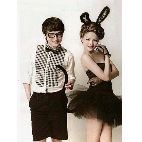 best playboy bunny girl cosplay halloween costumes for couples outfits sku 307159 - Halloween Costume Playboy Bunny