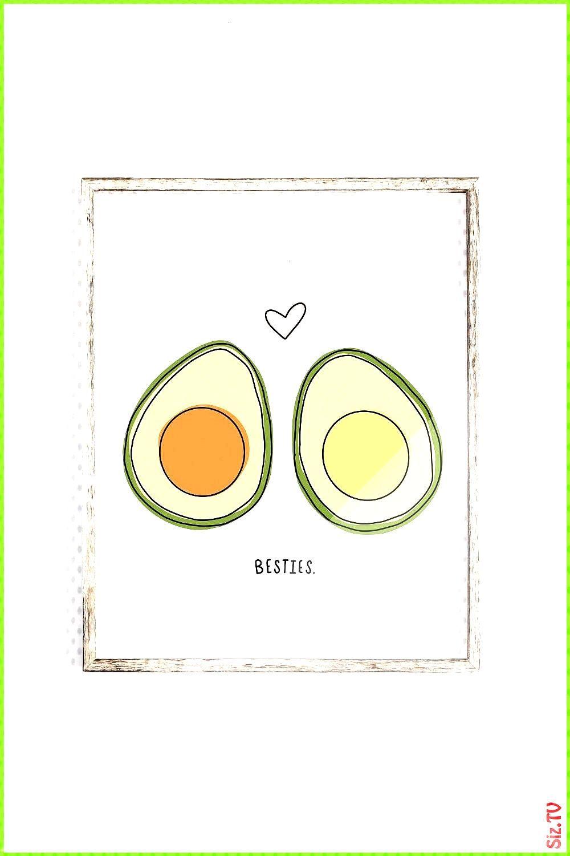 avocado best friends printable art food print kitchen art avocado wall art digital download funny p